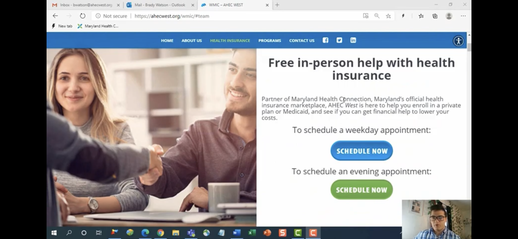 How To: Schedule An Appointment With Western Maryland Health Insurance Connector, By AHEC West – +3 Prize Points