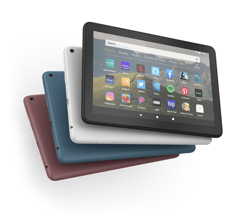 """Kindle Fire 8"""" – Colors Vary"""