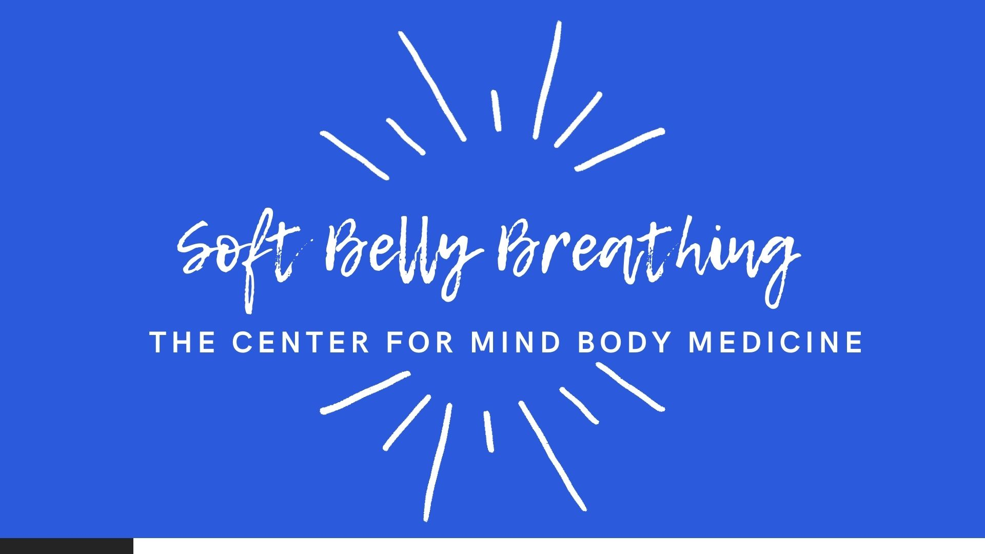 Soft Belly Breathing with Karen Kamauff Devore – +3 Prize Points
