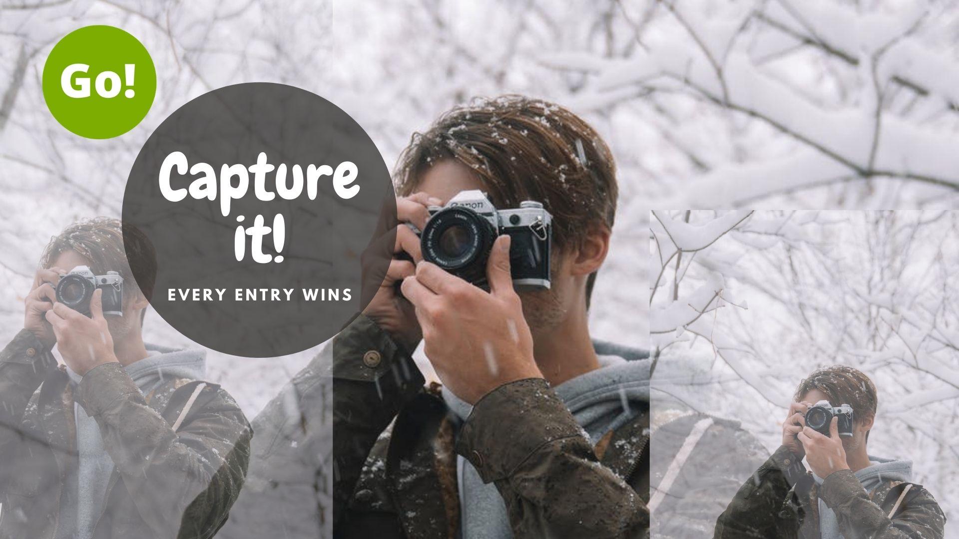 Capture It Contest! – +3 Prize Points