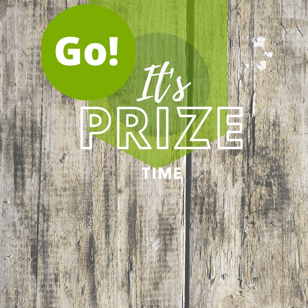 We Love Creating Ways to Give Back! – +3 Prize Points