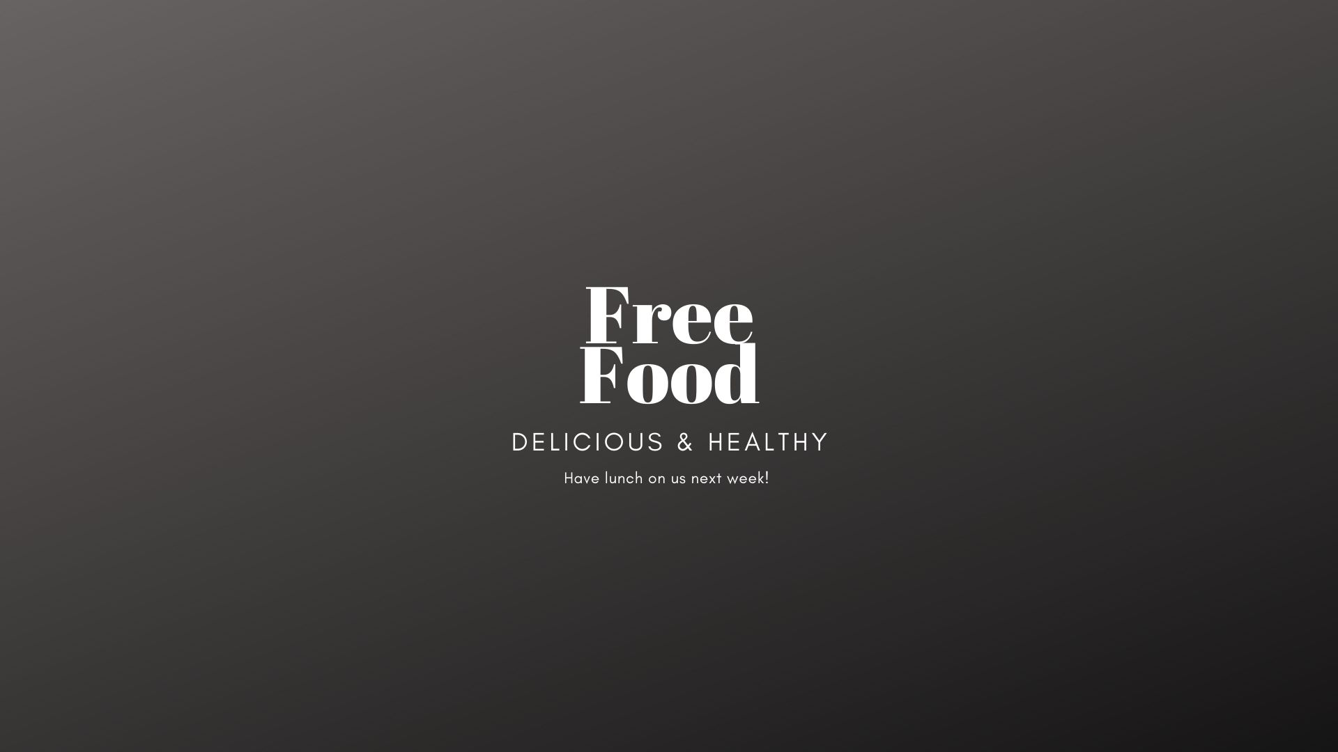 Free Food! – Support Local Business & Have Lunch On Us – +3 Prize Points