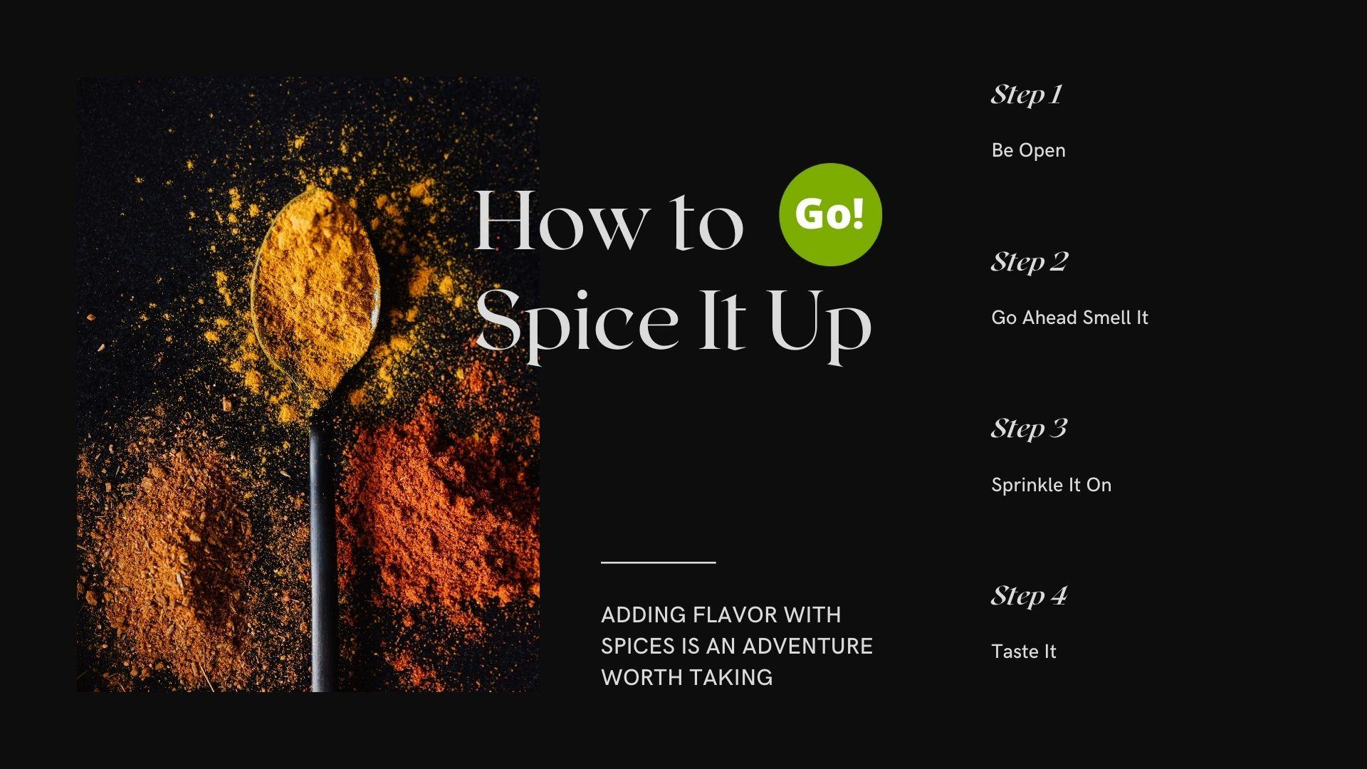 Spice It Up – +3 Prize Points