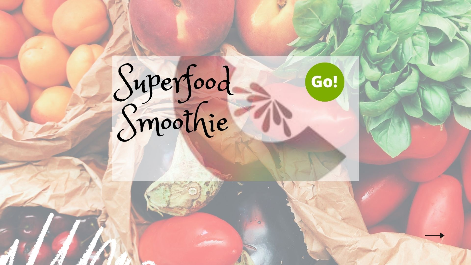 Make A Superfood Smoothie With Haley – +3 Prize Points