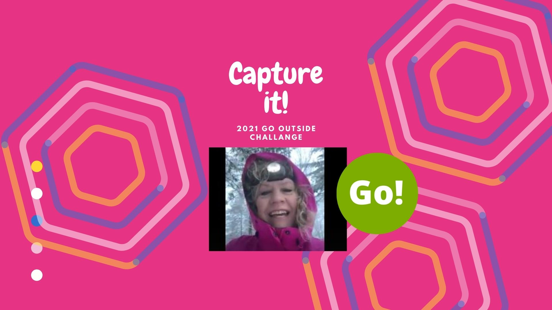 2021 Go Outside Challenge with Amy – + 3 Prize Points