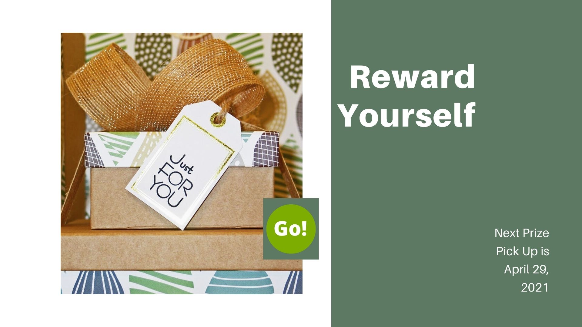 Reward Yourself With Well-Being… And Great Prizes! – +3 Prize Points