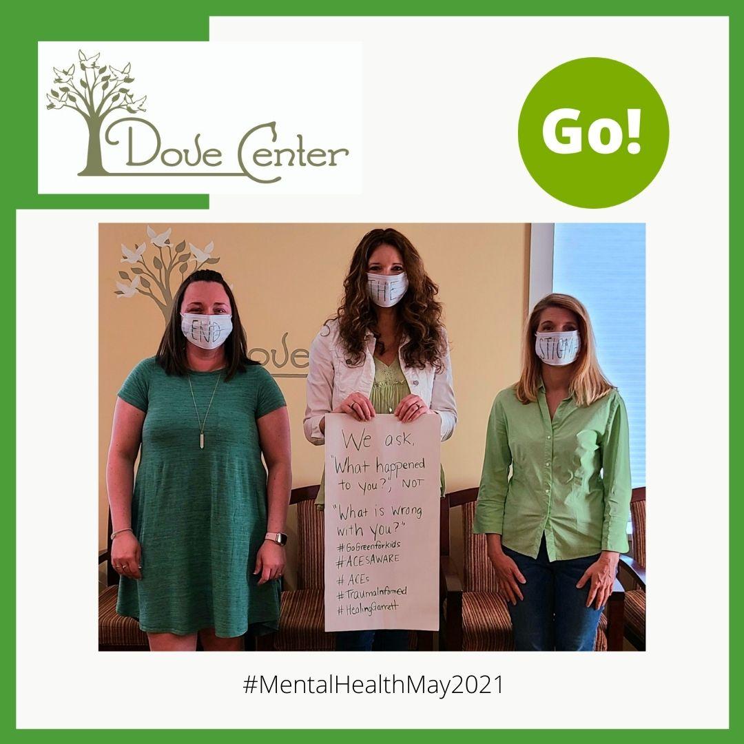 Mental Health Awareness Month #MentalHealthMondays #MentalHealthMay2021 – Dove Center Participates – +3 Prize Points