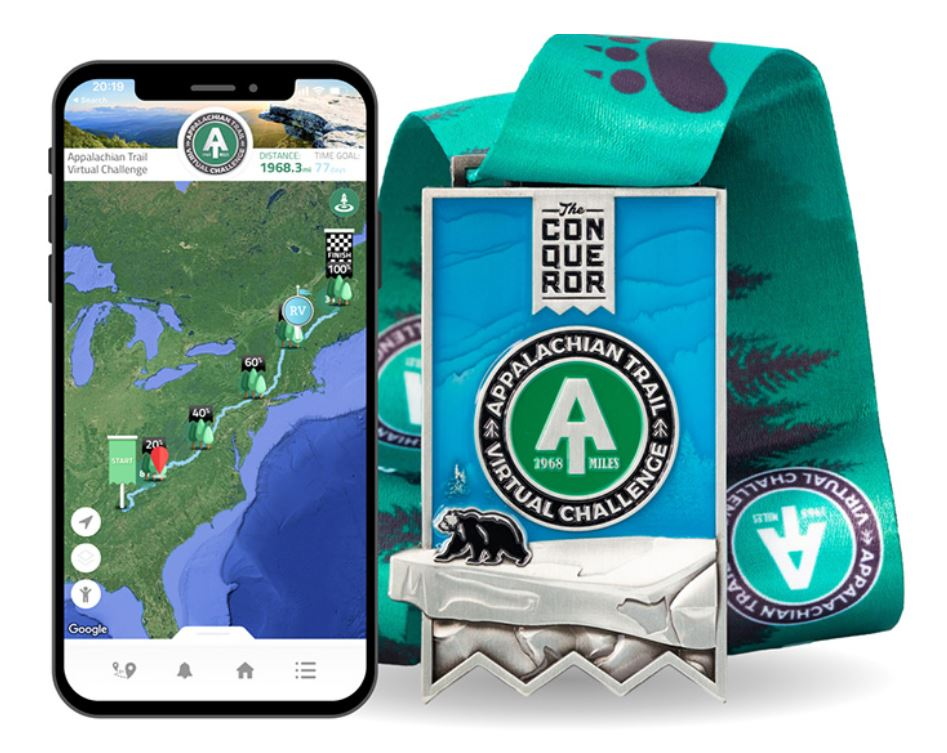 Join Us For The Appalachian Trail Virtual Challenge – +3 Prize Points