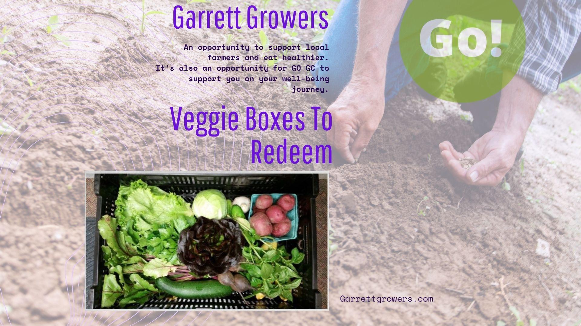 Veggie Box from Garrett Growers