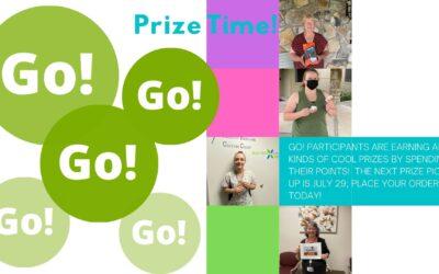 Wellbeing Rewards- +3 Prize Points