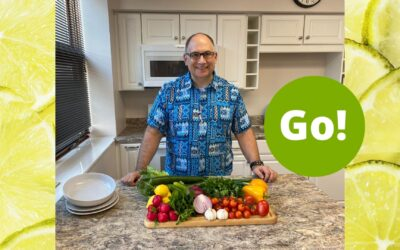 Mediterranean Salad with Grilled Lemon Garlic Chicken Recipe Video – Delicious and Nutritious? Absolutely! – +3 Prize Points