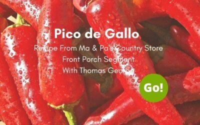 Pico De Gallo Recipe – +3 Prize Points
