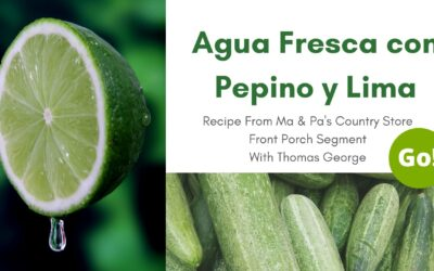 A Drink Made of Cucumbers, REALLY?! Agua Fresca con Pepino y Lima – +3 Prize Points